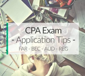 cpa exam application tips