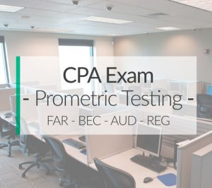 Prometric CPA Exam Testing