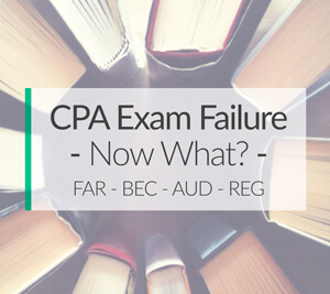 How to Retake Failed CPA Exam Section