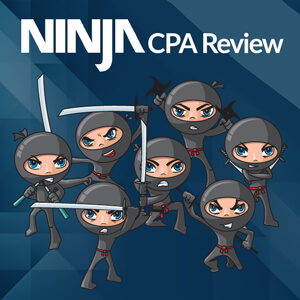 Ninja CPA Review Course & Test Bank [ Must Read Before You Buy ]