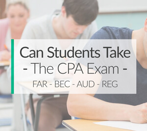 Can College Students Take and Pass the CPA Exam