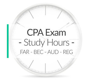 Number of CPA Exam Study Hours