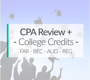 cpa review course for college credit