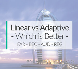 linear-vs-adaptive-cpa-exam-review-software