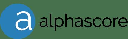 AlphaScore Logo