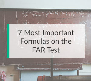 7 Most Important Formulas on the FAR Test