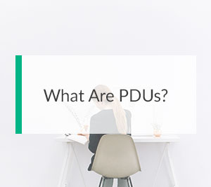 What Are PDUs?