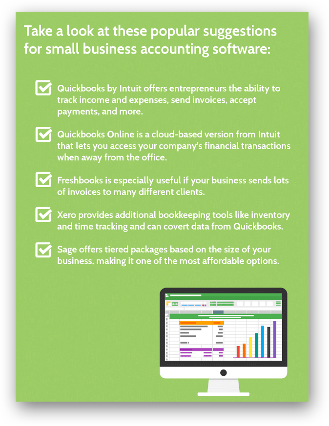 Selecting accounting software