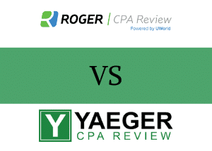 Roger CPA Review vs Yaeger CPA Review