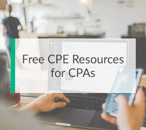 Free CPE Resources for CPAs