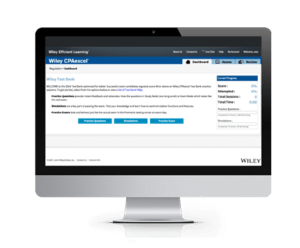 Wiley CPE Excel Test Bank