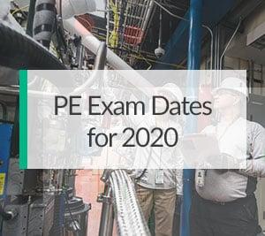 PE-Exam-Dates-2020