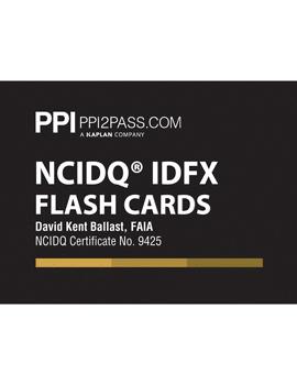 NCIDQ Flash Cards