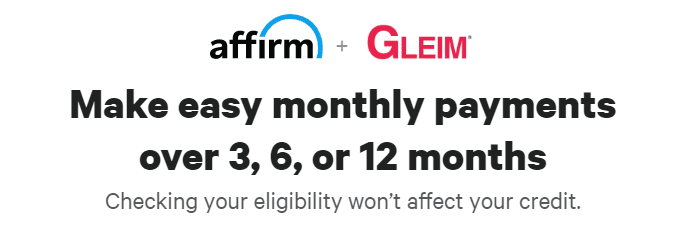 Gleim and Affirm
