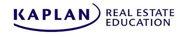 Kaplan Online Real Estate School